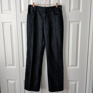 Banana Republic trouser cut jeans dark wash 10